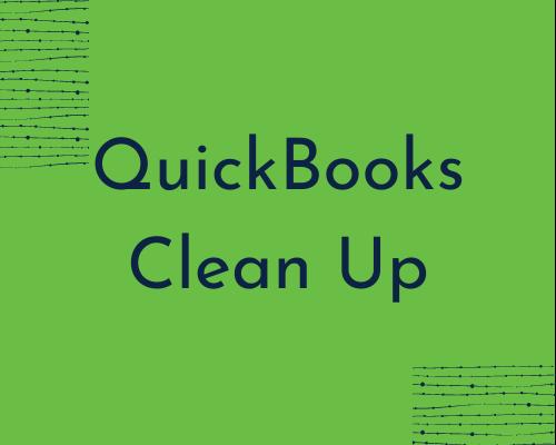 QuickBooks Clean Up